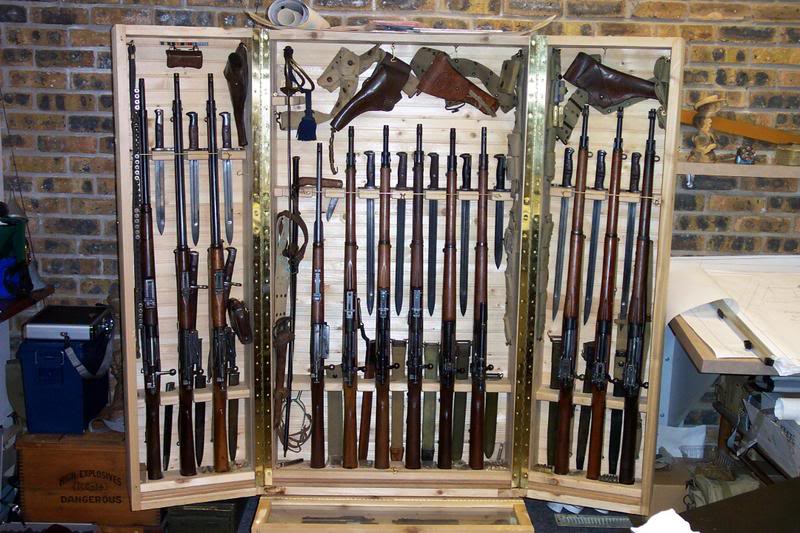 Displaying Your Bayonet Collection