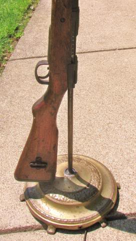 Build your own Japanese Rifle lamp. Photos.