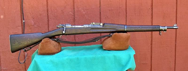 Traded for this old rifle back in the early 1960s