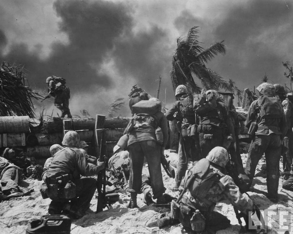 bonnyman guys Battlefield chronicles: the battle of tarawa by dianeshort2014  on his own initiative bonnyman organized and led five men over the open pier to the beach.