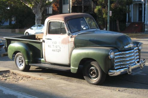 53 Chevy Pickup For Sale