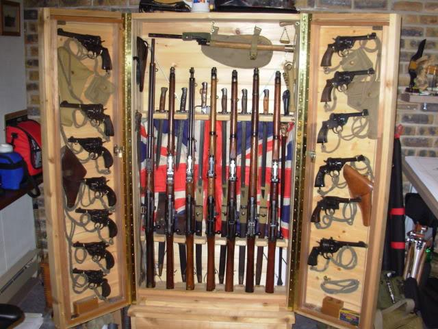 how to build a gun room in your house