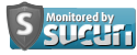 Site security, malware and virus detection monitored by Sucuri