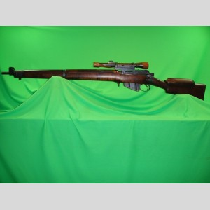 1944 Enfield No.4 Mk1*(T) Long Branch TP Sniper Rifle