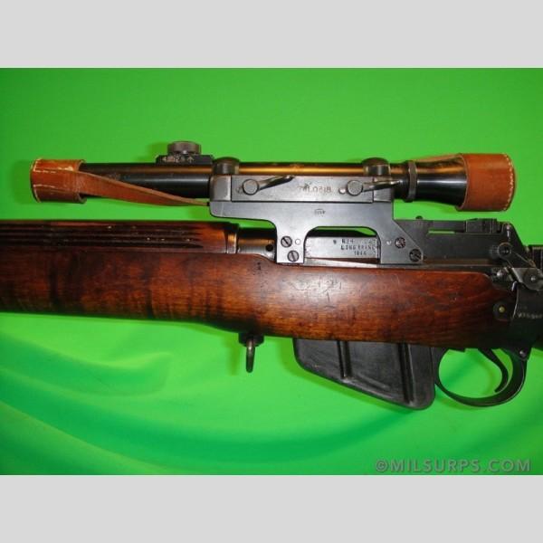 1944 enfield no 4 mk1 t long branch tp sniper rifle   milsurps com