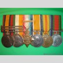 Boer War and WW1 Service Medals (3 groupings)