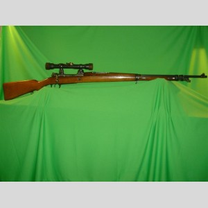Argentine Model 1909 Sniper Rifle c/w Nedinsco-Zeiss 4x31 Scope