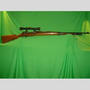 Argentine Model 1909 Sniper Rifle c/w Nedinsco-Zeiss 4x31 Scope