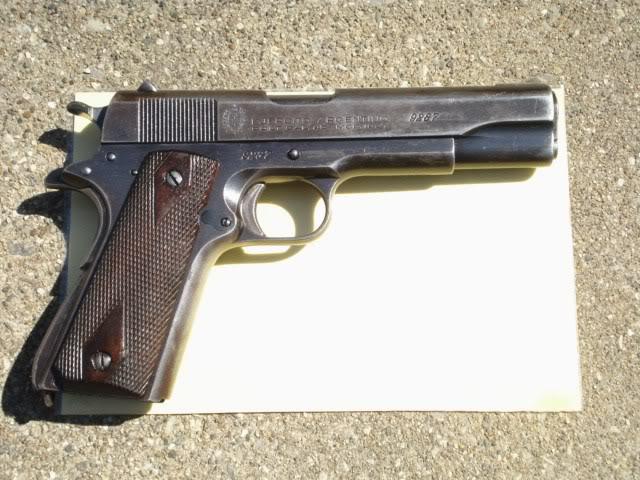 Colt  45 Argentine model of 1927