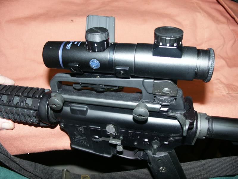 Best Buy Private Auction >> ar15 colt carbine scope