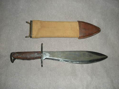 Info On Wwi Bolo Knife Needed