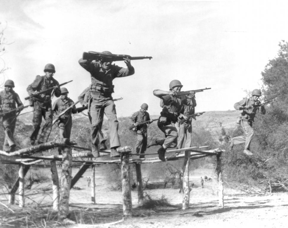10 058 Garand Picture Of The Day Marine Raiders