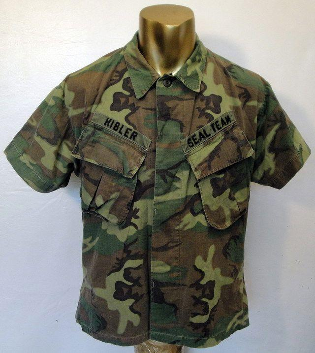 Need help w/age of this Camouflage Navy Seal Team Shirt