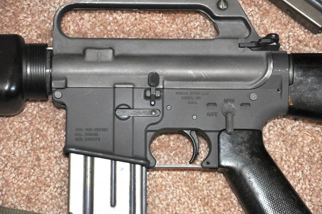 Am Auto Parts >> Early 603 XM16E1 project finished