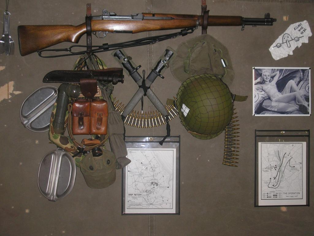 Man Cave War Room : Anybody else have a display war wall? or special place in the man