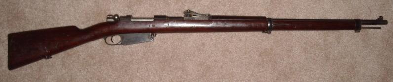 Model 1891 Peruvian Mauser