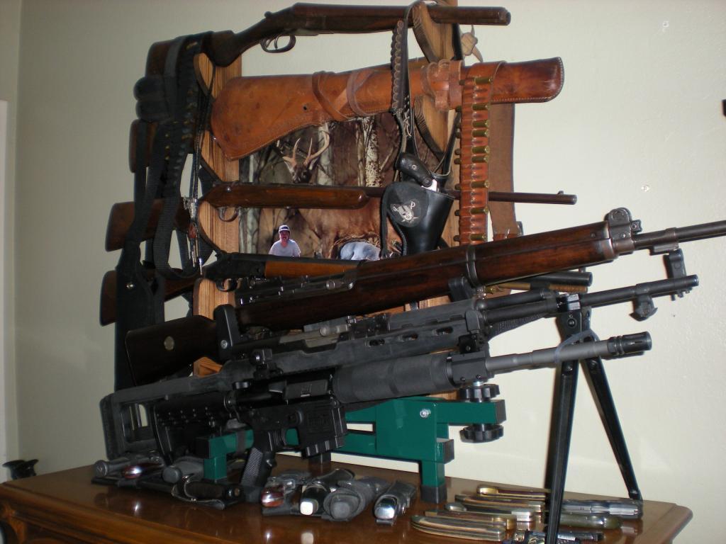 Rifle Display Rack Ideas