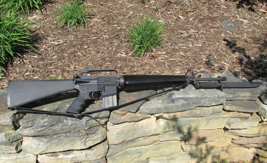 Vietnam M16A1 Retro build