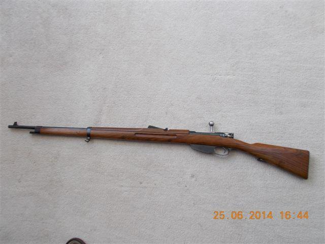 Very nice looking Dutch 1916 Hembrug Mannlicher 6 5x53Rmm rifle