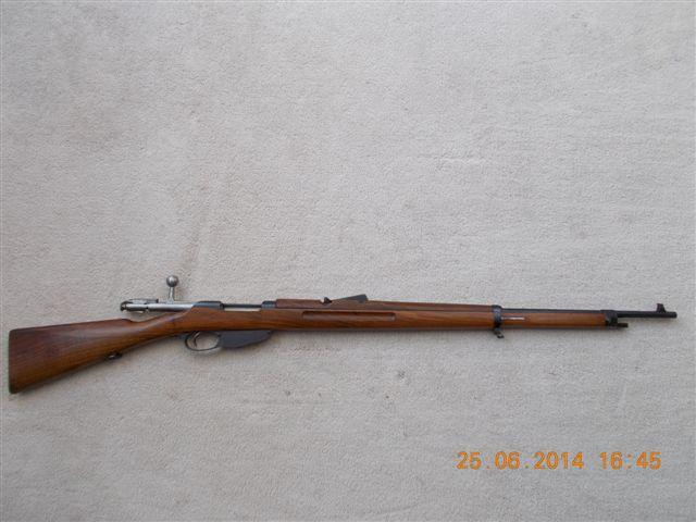 Very nice looking Dutch 1916 Hembrug Mannlicher 6 5x53Rmm