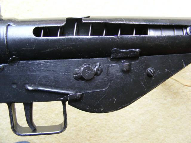 STEN Mk II - welded fire selector