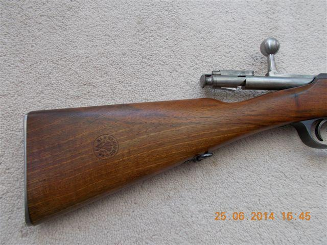 Very nice looking Dutch 1916 Hembrug Mannlicher 6 5x53Rmm rifle