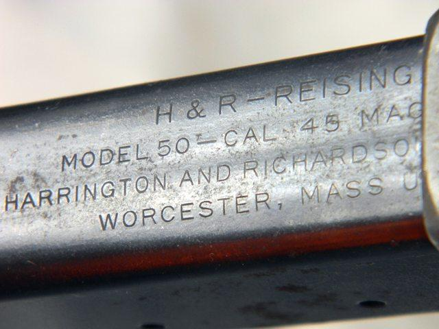 H&R Reising M50 - Field Stripped and Assembled