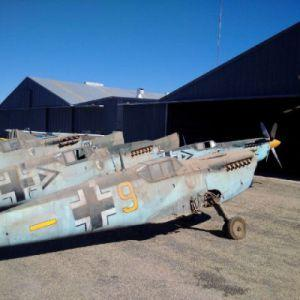 Fate Of The Barn Find BF 109 Aircraft