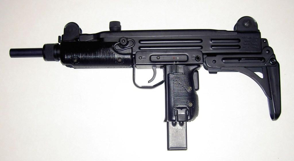 Uzi - Model B – 9mm semi-auto