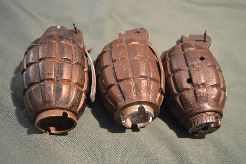 Pineapple grenade