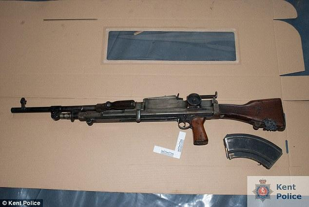 Elderly British Man Jailed With Large Firearms Collection