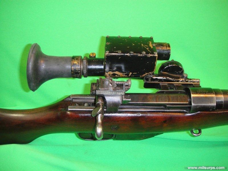 Original 1915 Ross MkIII Sniper Rifle - Photo 1016