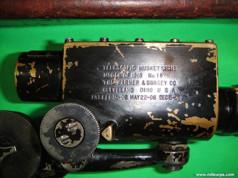 Original 1915 Ross MkIII Sniper Rifle - Photo 1030