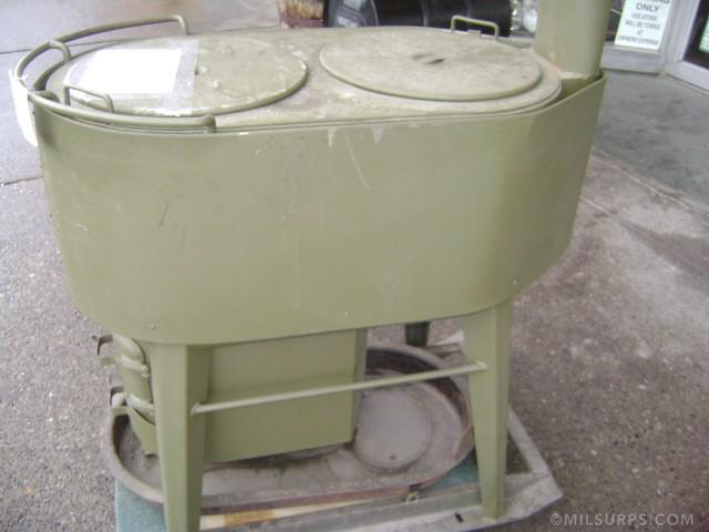 Help To Identify This Wood Burning Military Stove